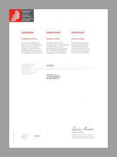 Patent europejski dla separatorów hybrydowych DELFIN