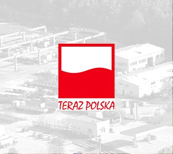 Godło Teraz Polska dla produktów Delfin